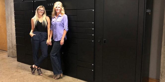 Piper Loft apartment package lockers