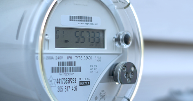 electric submeter reading