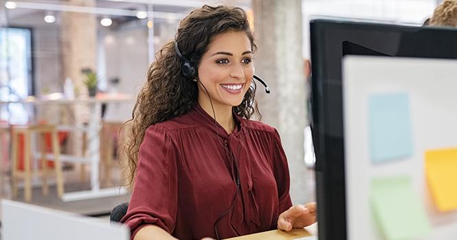 technical support and customer service representative